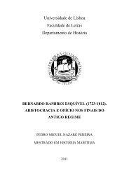 bernardo ramires esquível - Repositório da Universidade de Lisboa
