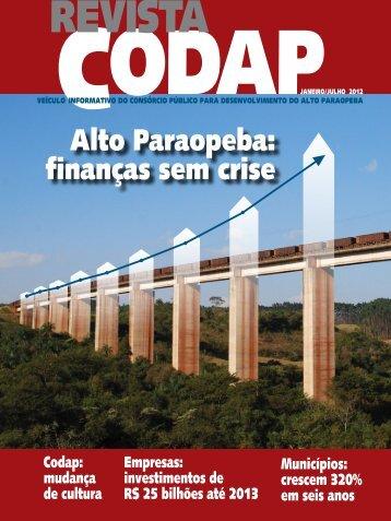 Alto paraopeba: finanças sem crise - Geopark Quadrilátero Ferrífero