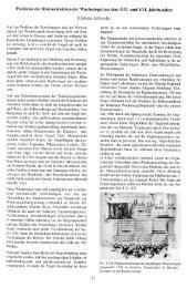 Probleme der Rekonstruktion der Wachssiegel aus dem XIV. und ...