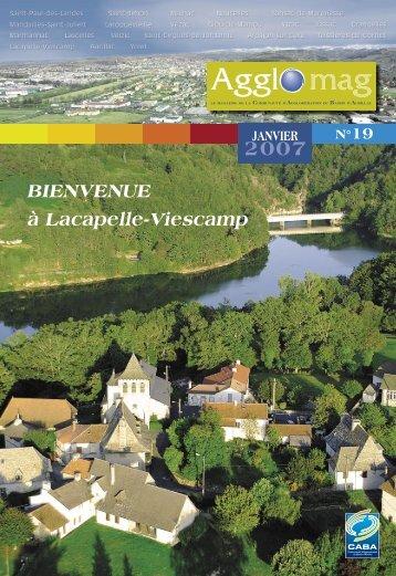 Centre… - Communauté d'Agglomération du Bassin d'Aurillac