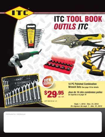 ITC TOOL BOOK OUTILS ITC - Centennial Supply