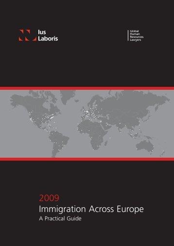 Immigration Across Europe 2009 - Raidla Lejins & Norcous Latvia