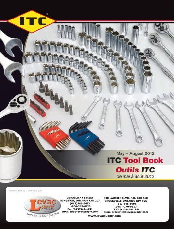 ITC Tool Book Outils ITC - Levac Supply
