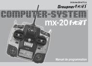 Radio Graupner/JR MX20 HoTT - page perso clubcugnaux