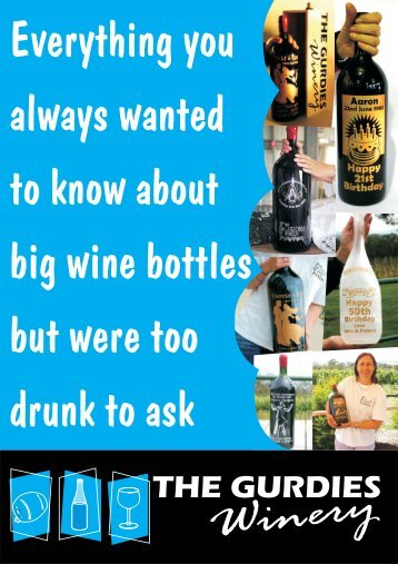 Big Wine Bottle History (PDF) - Living the dream, what it is really like ...