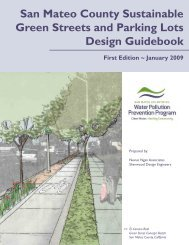 San Mateo County Sustainable Green Streets and Parking Lots ...
