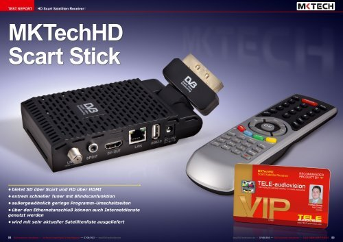 MKTechHD Scart Stick