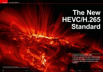 The New HEVC/H.265 Standard