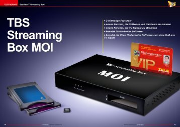 TBS Streaming Box MOI
