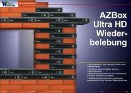 AZBox Ultra HD Wiederbelebung