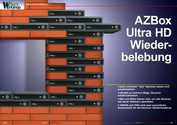 AZBox Ultra HD Wiederbelebung