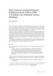 Paris National and International Exhibitions from ... - British Library