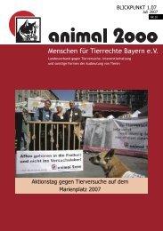 Menschen für Tierrechte Bayern e.v.