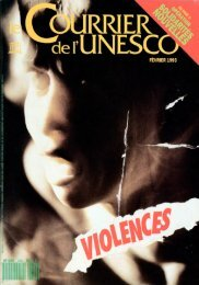 Violences; The UNESCO Courier: a window ... - unesdoc - Unesco