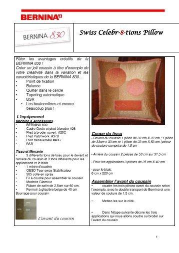 Instruction (PDF) - Bernina
