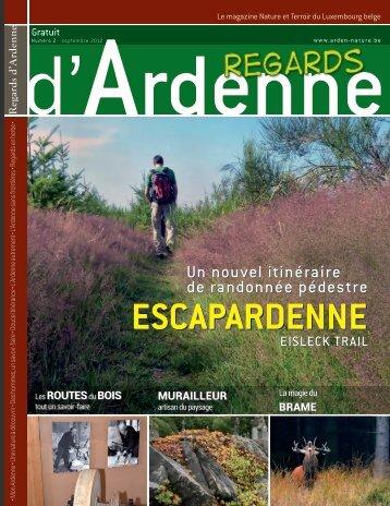 ESCAPARDENNE - Fédération touristique du Luxembourg belge