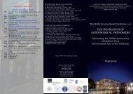 Conference Brochure - Dipartimento di Fisica e Astronomia