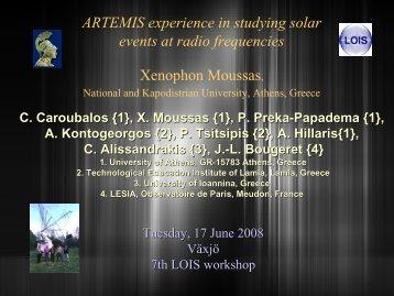 The presentation (PDF) - LOIS