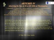 ARTEMIS IV, Thermopylae