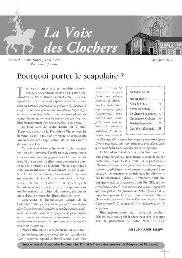 Scapulaire magazines for Porte latine