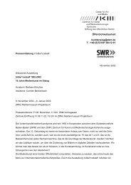 Öffentlichkeitsarbeit buddensieg@zkm.de T.: +49 (0)721/81 00-12 01
