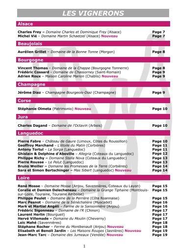 Carnet de dégustation 2013 - Salon des Vignerons à Olne