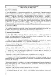 LEIA NESTA EDIÇÃO 1 - Secretaria da Agricultura e Abastecimento ...