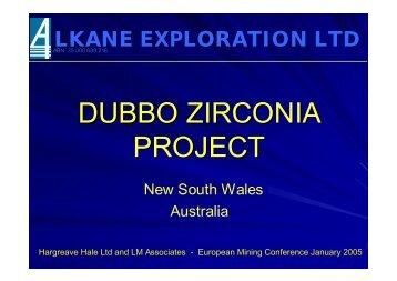 DUBBO ZIRCONIA PROJECT - ConspiracyOzFiles
