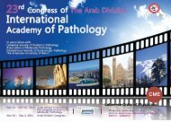 International Academy of Pathology - American University of Beirut