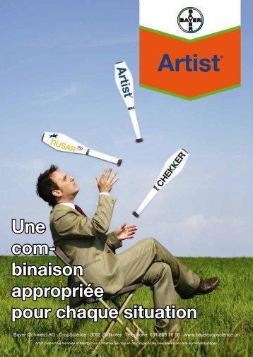 Artist® - Chekker - Bayer CropScience - Schweiz