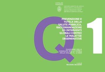 Prevenzione e tutela della salute pubblica - Consiglio comunale ...