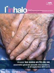 dossier les soins en fin de vie - Ordre professionnel des ...