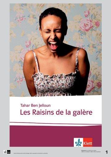 Download zu: Les Raisins de la galère ISBN-10 ... - Ernst Klett Verlag