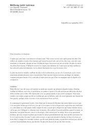lettre du septembre 2011 (pdf) - Lotti Latrous