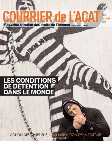 Les conditions de détention dans le monde - Acat