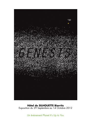 genesis #00 - Planet it's up to you