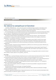 Se relanzó la campaña por el Garrahan - La Nueva Provincia