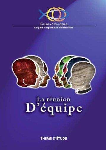 la reunion d'equipe - Equipes Notre-Dame