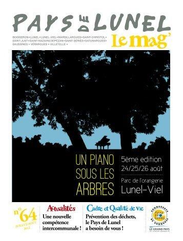 arbres - Communauté de communes du Pays de Lunel