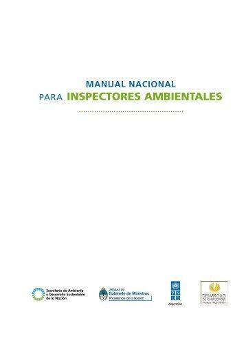 Manual nacional para inspectores ambientales - Programa de las ...