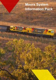 Moura System Information Pack - Aurizon