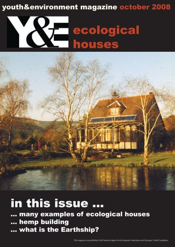 ecological houses in this issue ... - Faculty of Engineering ...