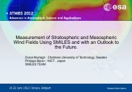 Measurement of Stratospheric and Mesospheric Wind Fields Using ...