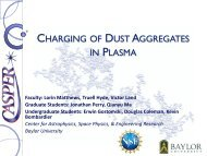 CHARGING OF DUST AGGREGATES IN PLASMA