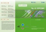 The 4S SYMPOSIUM - Home - ESA Conference Bureau