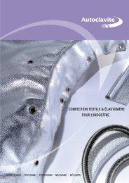 confection textile & élastomère pour l'industrie - Eynard Robin