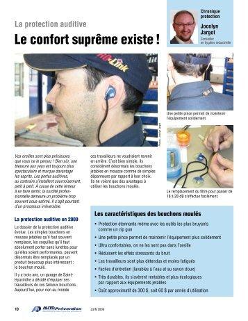 La protection auditive : le confort suprême existe - Auto Prévention
