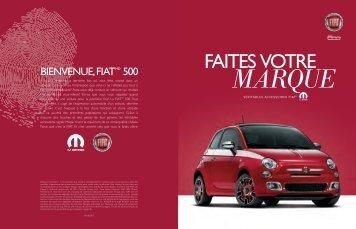FIAT 500. Les accessoires - Mopar.ca