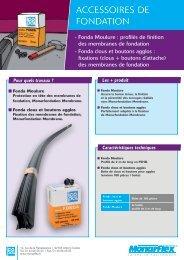 Notice Produit Monarflex