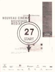Violin Power : Nouveau Cinema, Nouveaux Medials
